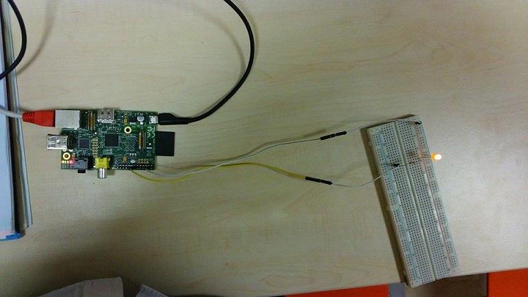 RPi LED bağlantısı