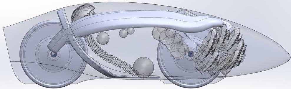 Aerovelo Eto iç yapısı
