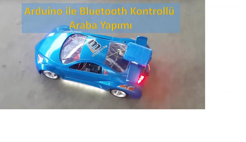 Arduino ile bluetooth kontrollü araba yapımı roboturka