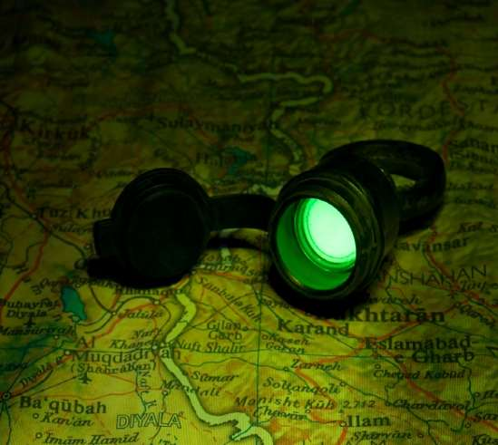 Betalight tactical torch, tritium lamp, tritium flashlight, military lamp-l