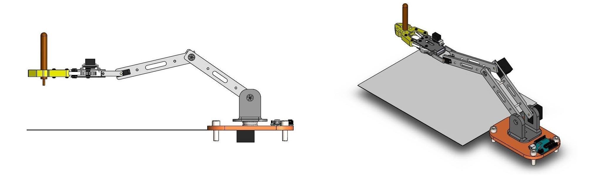Yazıcı Robot Kolu Tasarımı