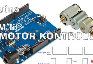 arduino_ile_pwmli_dc_motor_kontrolu