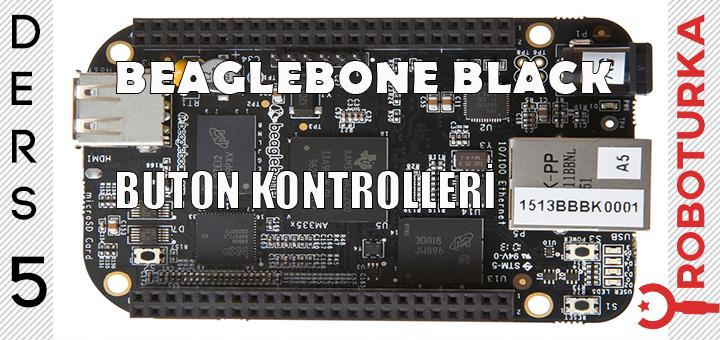 beaglebone_black_ile_buton_kontrolleri