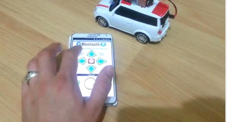 Android bluetooth ile arduino cihazların kontrolü