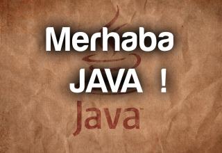 java_merhaba_hello_world_roboturka