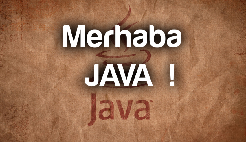 java_merhaba_hello_world_roboturka