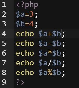 php_aritmetik_operator