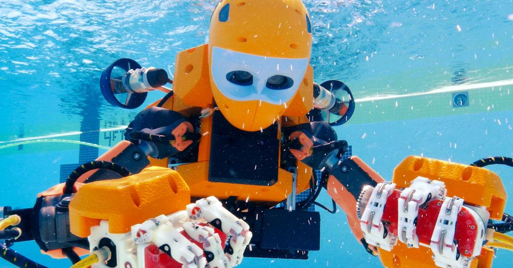 su altı robotu