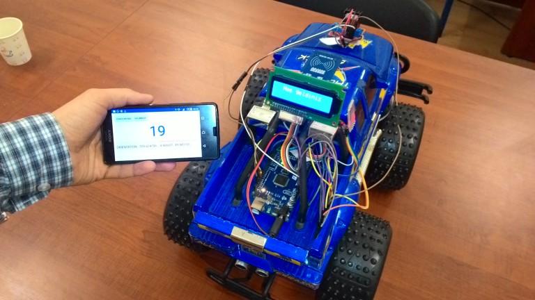 SaÜro akıllı araba roboturka